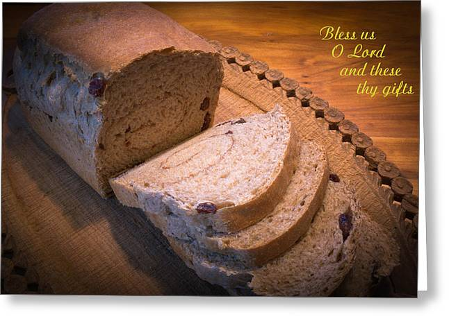 Bless Us O Lord Greeting Card