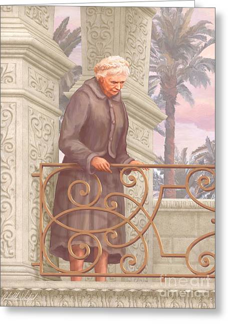 Blessed Dorothy Day Greeting Card by John Alan  Warford