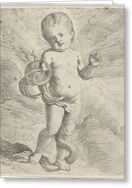 Blessing Christ Child, Anonymous Greeting Card