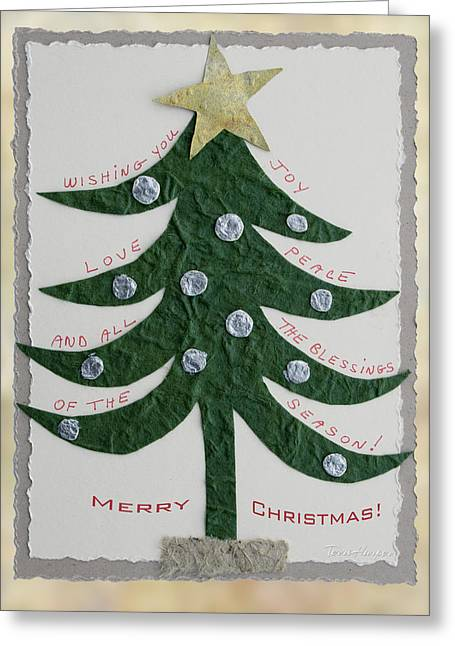 Greeting Card featuring the photograph Blessing Tree by Terri Harper