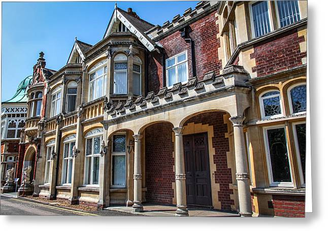 Bletchley Park Greeting Card by Ross Henton