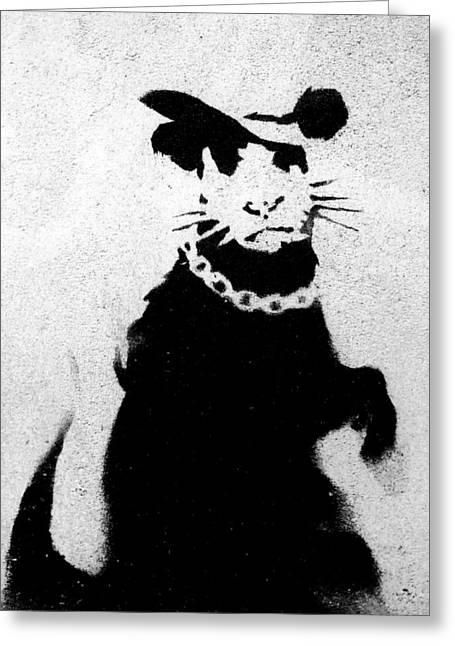 Bling Rat  Greeting Card