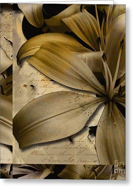 Bliss II Greeting Card by Yanni Theodorou