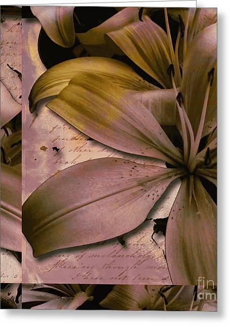 Bliss Greeting Card by Yanni Theodorou