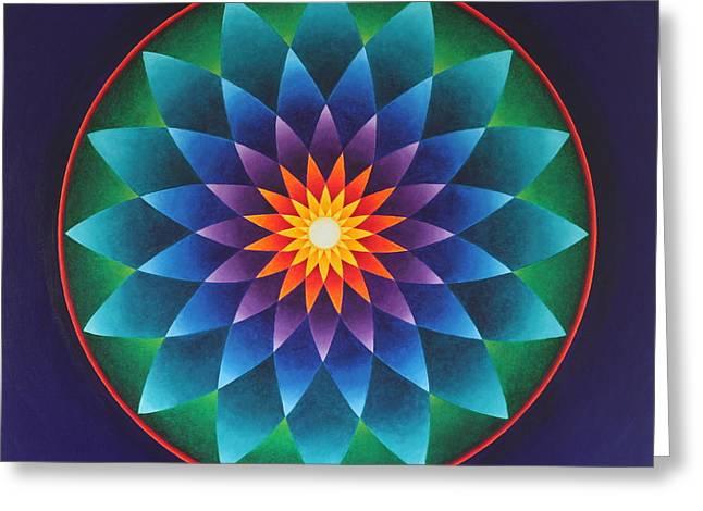 Blissful Awakening Greeting Card