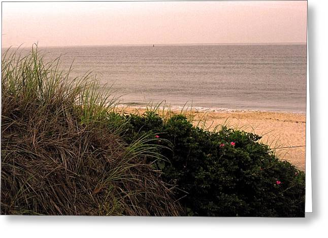 Block Island Beach Greeting Card
