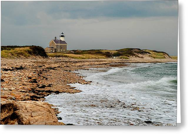 Block Island North Lighthouse  Greeting Card