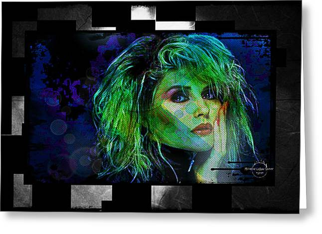 Blondie - Debbie Harry Greeting Card