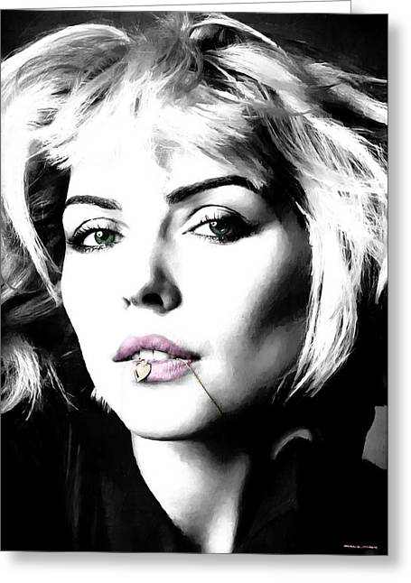 Blondie Large Size Portrait Greeting Card