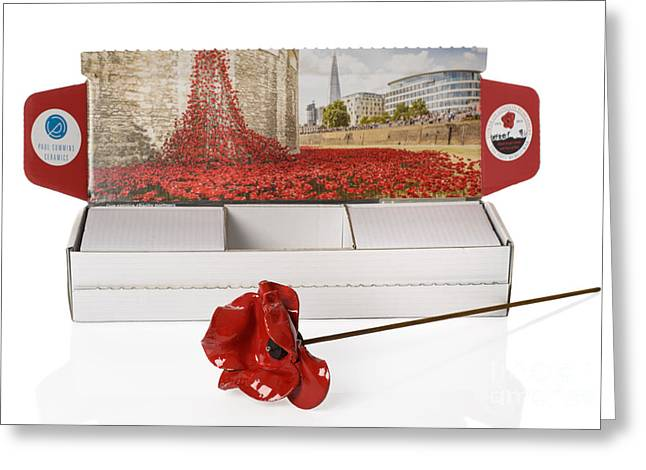 Blood Swept Lands And Seas Of Red Greeting Card
