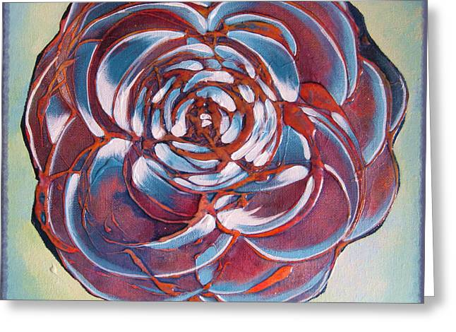 Bloom II Greeting Card by Shadia Derbyshire