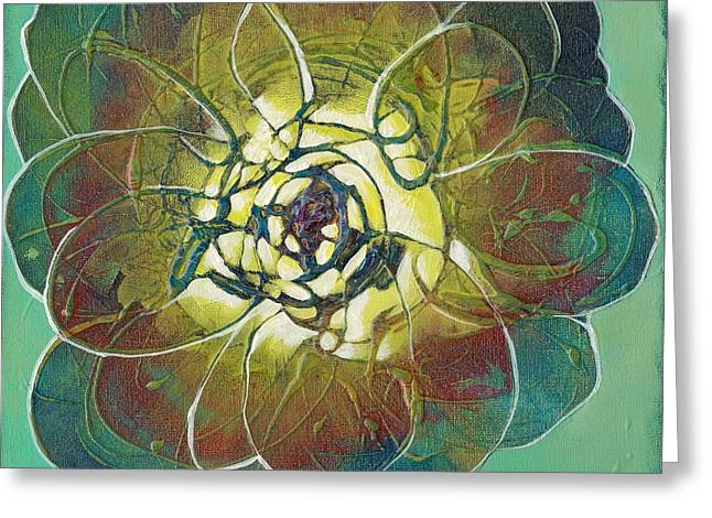 Bloom IIi Greeting Card by Shadia Derbyshire