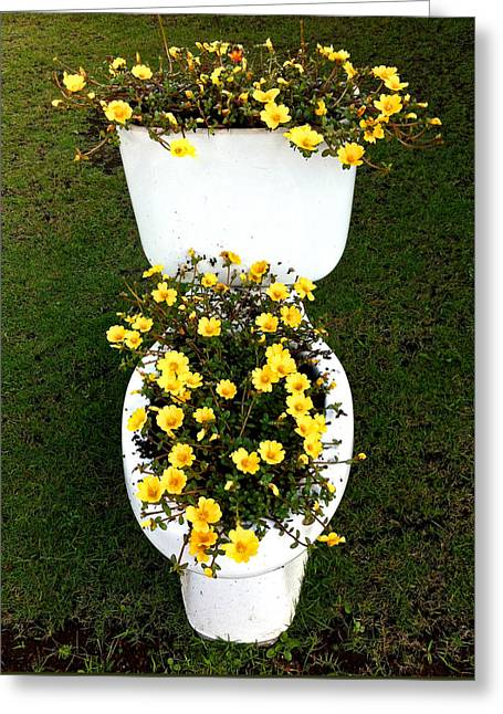 Blooming Loo Greeting Card