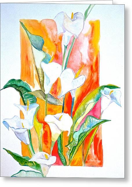 Blooms Beyond Borders Greeting Card by Debi Starr