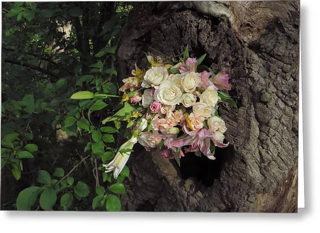 Blossom Rain 25 Greeting Card by Georg Kickinger