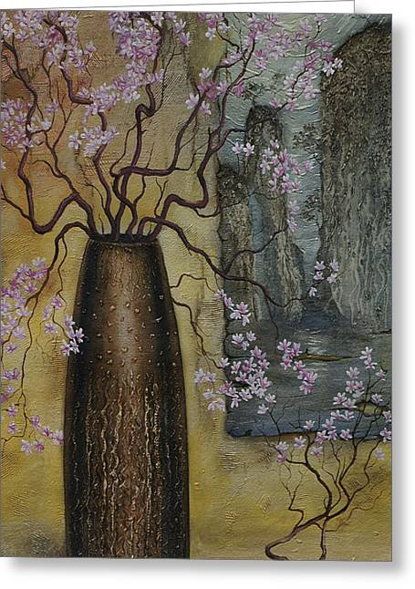 Blossom Greeting Card by Vrindavan Das
