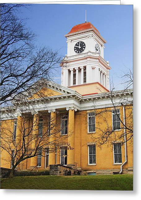 Blount County Courthouse Greeting Card