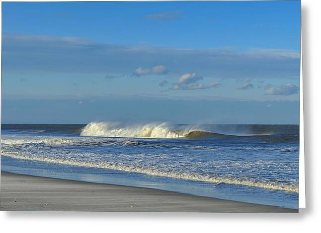 Blowin' In The Wind Seaside Heights New Jersey Greeting Card by Terry DeLuco