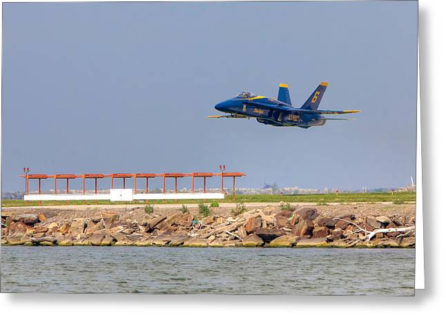 Blue Angel Greeting Card by Brent Durken