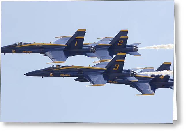 Blue Angels 20 Greeting Card
