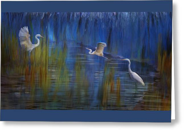 Blue Bayou II Greeting Card