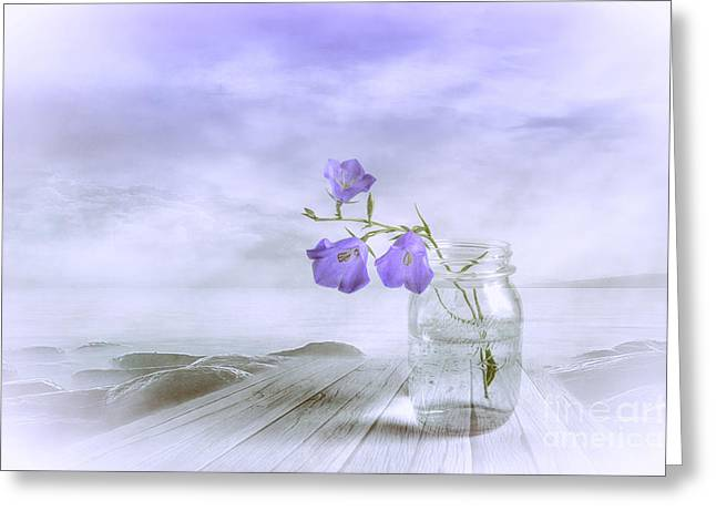 Blue Bells Greeting Card by Veikko Suikkanen