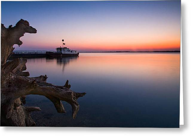 Blue Danube Greeting Card by Davorin Mance