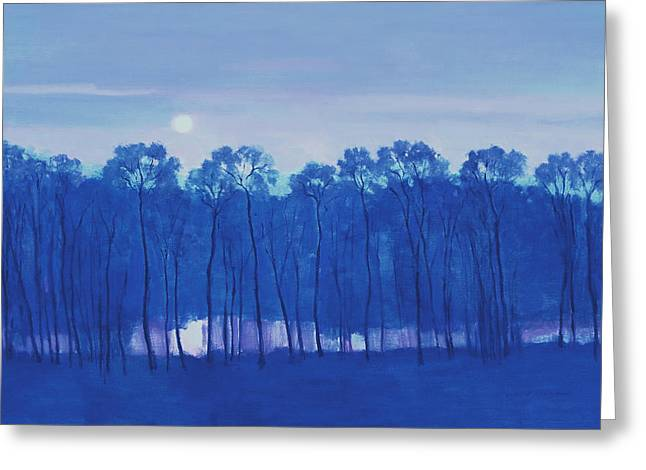 Blue Enchantment Il Greeting Card by J Reifsnyder