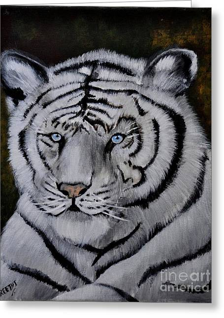 Wild Eyes Greeting Card