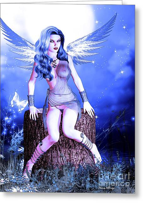 Blue Fairy Greeting Card