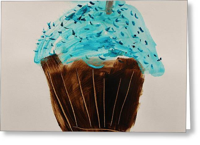Blue Flame  Blue Jimmies Greeting Card by John Williams