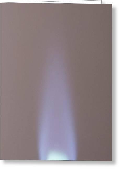 Blue Flame Greeting Card by Dorling Kindersley/uig