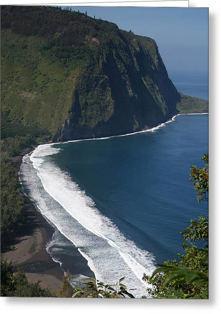 Greeting Card featuring the photograph Blue Hawaii by Kathleen Scanlan