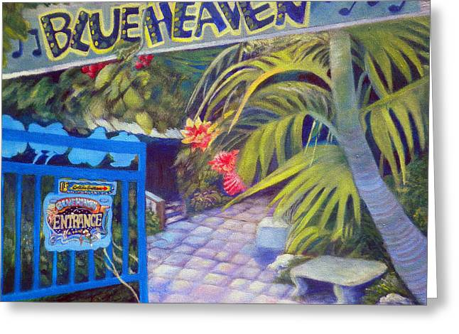 Blue Heaven New View Greeting Card