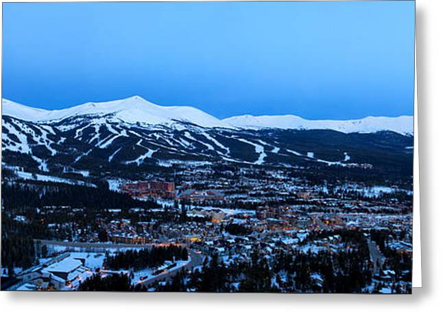 Blue Hour In Breckenridge Greeting Card by Ronda Kimbrow