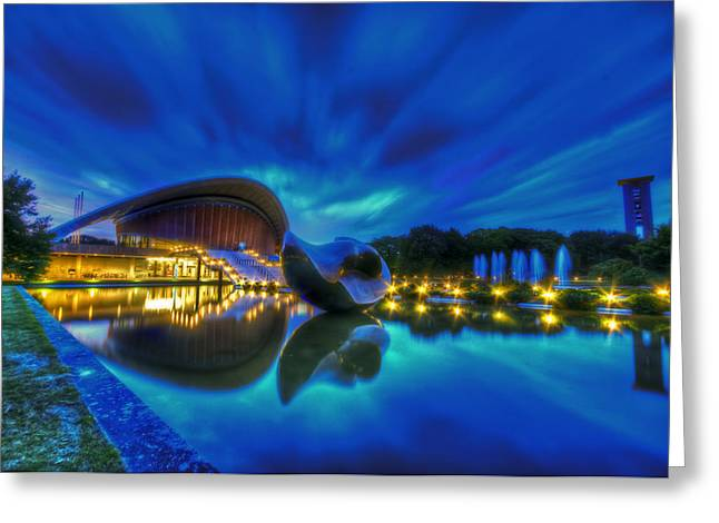Blue Hour Kulture Haus Greeting Card