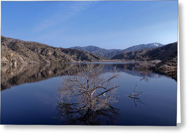 Greeting Card featuring the photograph Blue Lake by Ivete Basso Photography