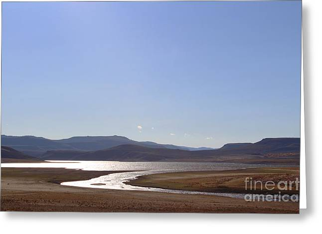 Blue Mesa Reservoir Greeting Card