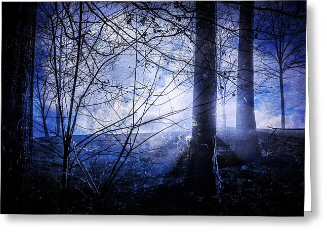 Blue Mist Greeting Card