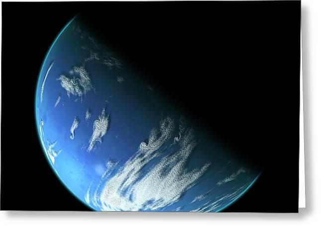Blue Planet1 Greeting Card