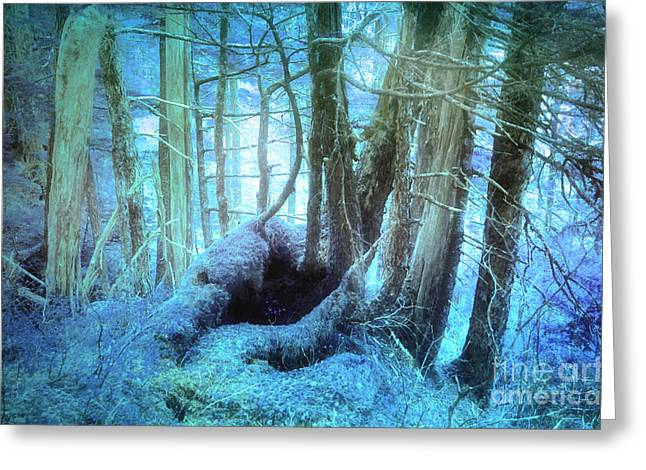 Blue Reveries Greeting Card