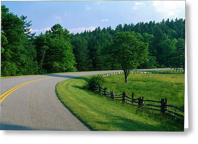 Blue Ridge Parkway Nc Greeting Card
