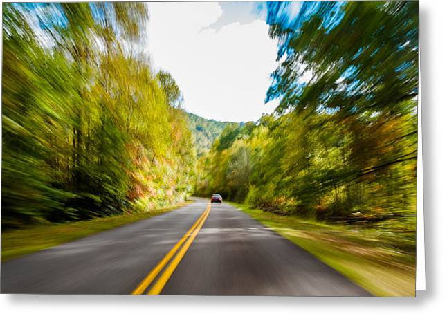 Blue Ridge Parkway Greeting Card by Raul Rodriguez