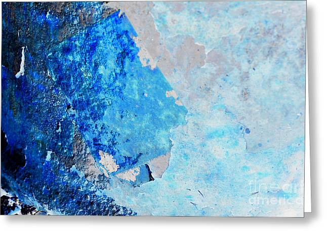 Greeting Card featuring the photograph Blue Rust by Randi Grace Nilsberg