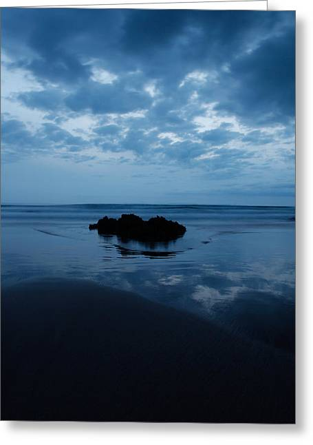Blue Sea Greeting Card by Ollie Taylor