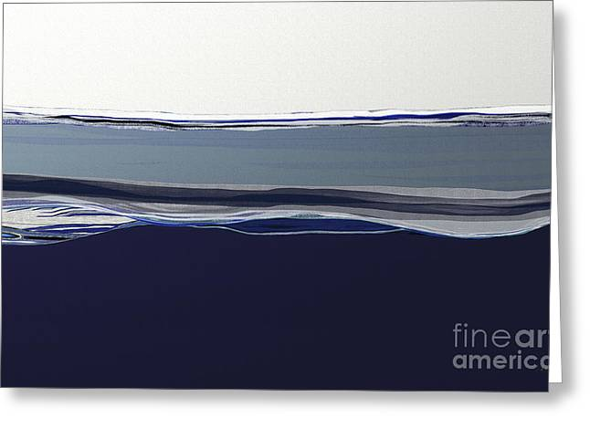 Blue Seas Greeting Card by Shesh Tantry