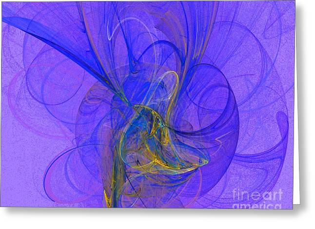 Blue Shell 2 Greeting Card by Jeanne Liander