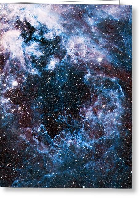 Blue Storm  Greeting Card by Jennifer Rondinelli Reilly - Fine Art Photography