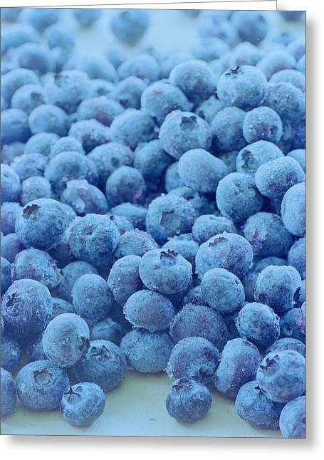 Blueberries Greeting Card