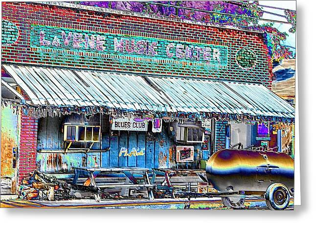 Blues Club In Clarksdale Greeting Card